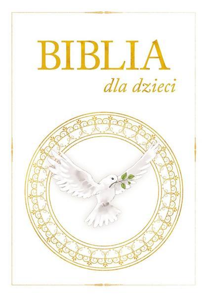 Oferta komunijna. Biblia dla dzieci (A4) outlet