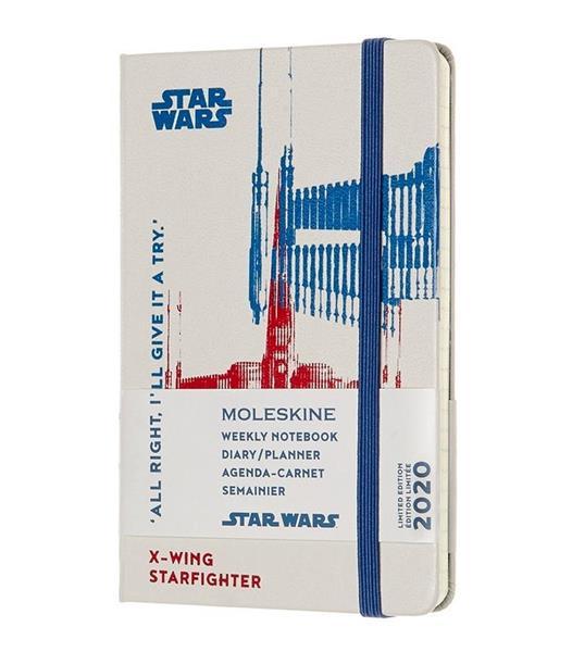 Kalendarz 2020 tygodniowy 12MP tw. Star Wars