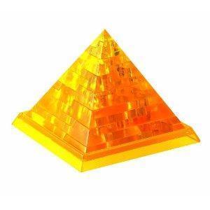 Crystal puzzle piramida