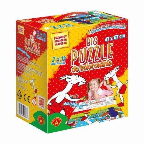 Big puzzle - do kolorowania Przygody Koziołka...