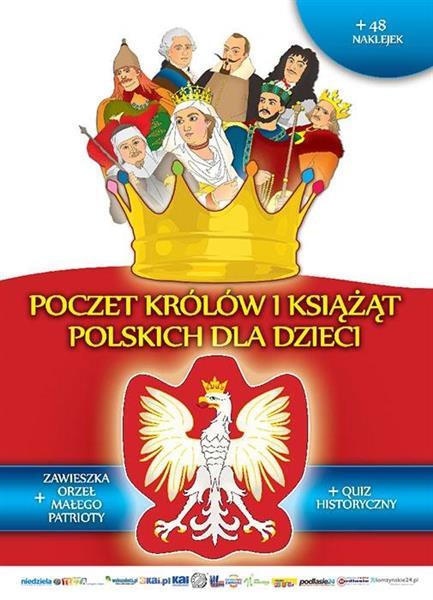 Poczet królów i książąt polskich dla dzieci w.2019