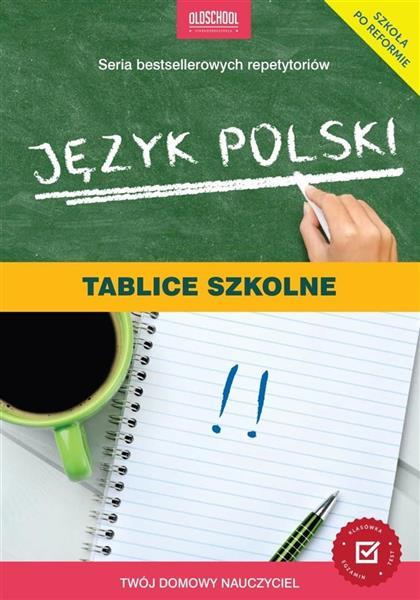 JĘZYK POLSKI TABLICE SZKOLNE BR OUTLET
