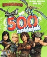 Dragons 500 naklejek