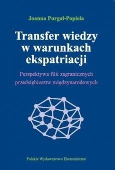 TRANSFER WIEDZY W WARUNKACH EKSPATRIACJI outlet