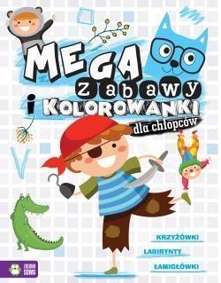 Megazabawy i kolorowanki dla chłopców