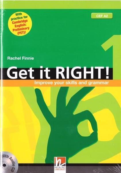 Get It Right! 1 SB + audio CD