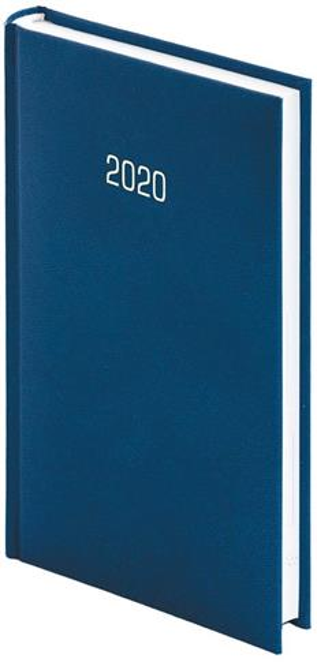 Kalendarz 2020 A6 Tygodniowy Albit Granat