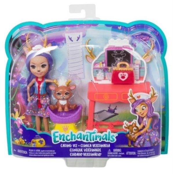 Barbie Enchantimals lalka+zwierzątka,różne rodzaje