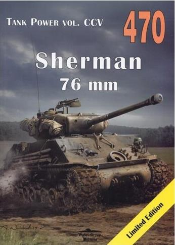 Sherman 76 mm. Tank Power vol. CCV 470-324907