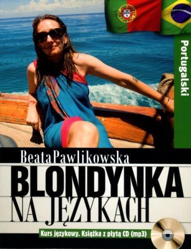 Blondynka na językach. Portugalski   CD MP3-28723
