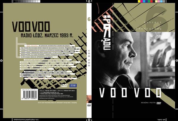 VOO VOO BEZ PRĄDU KONCERT AKUSTYCZNY - KSIĄŻKA DVD-40098