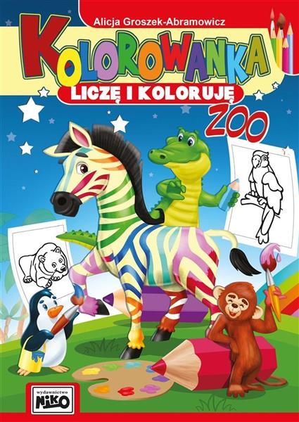 Kolorowanka. Liczę i koloruję. ZOO-318659