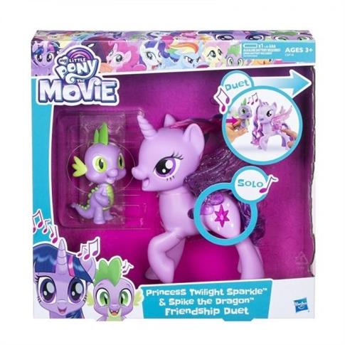 My Little Pony Śpiewająca Twilight Sparkle + Spike