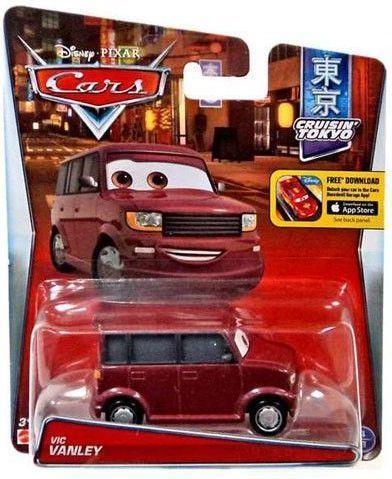 Mattel Cars  Vic Vanley
