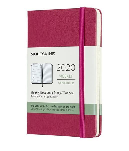 Kalendarz 2020 tygodniowy 12MP tw. Snappy pink