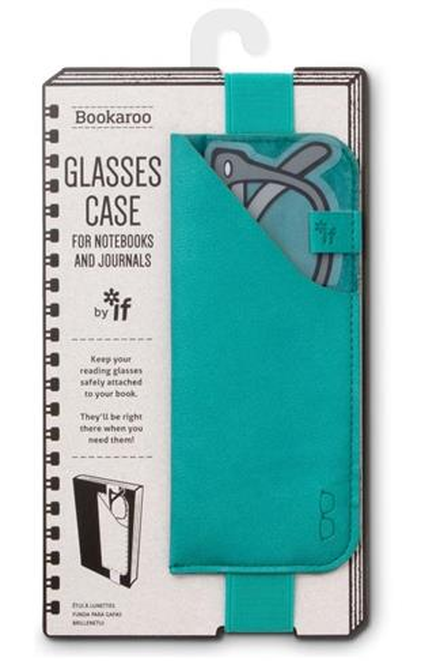 Bookaroo Glasses case Uchwyt na okulary turkusowy
