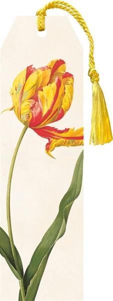 Zakładka 13 ze wstążką Tulipan