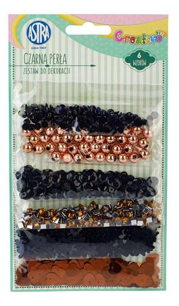 Creativo - Zestaw do dekor. czarna perła ASTRA