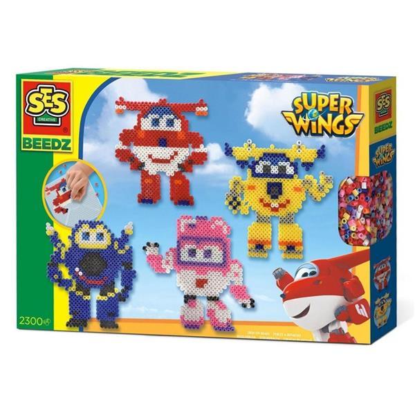 Koralikowe prasowanki - Super Wings