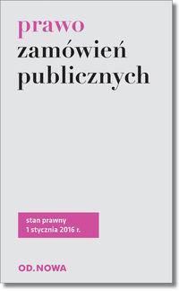 PRAWO ZAMÓWIEŃ PUBLICZNYCH 01.2016 outlet