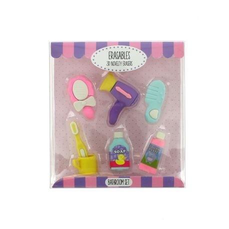 Gumki do mazania - zestaw łazienkowy