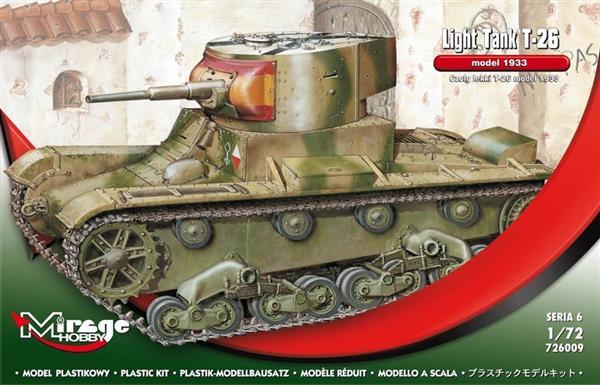 Czołg Lekki T-26 model 1933