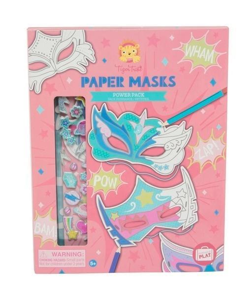 Zestaw kreatywny Maski - różowy