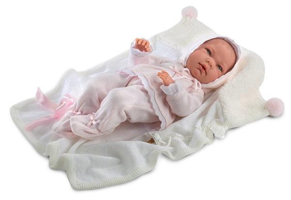 Lalka 73850 bobas Nica w różowym kostiumie 40cm