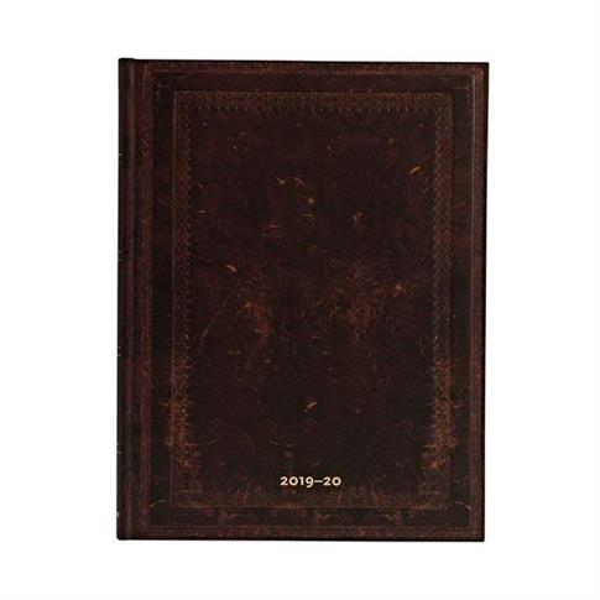 Kalendarz książkowy ultra 2020 18M Moroccan Bold