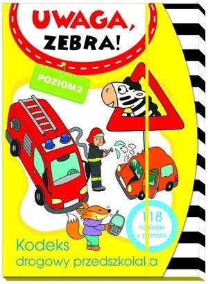 Uwaga zebra! Kodeks drogowy przedszkolaka. Poziom