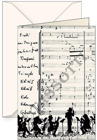 Karnet B6 + koperta Orchestra