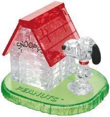 Crystal puzzle Snoopy z budą