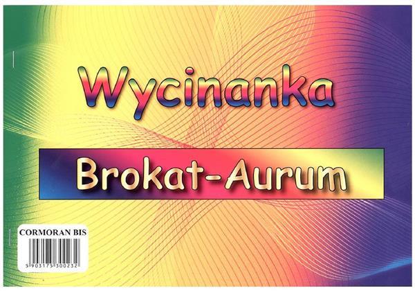 Wycinanka A4 brokat Aurum