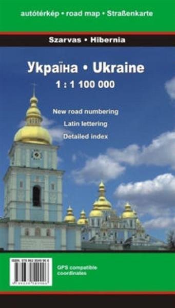 Mapa samochodowa - Ukraina 1:1 100 000