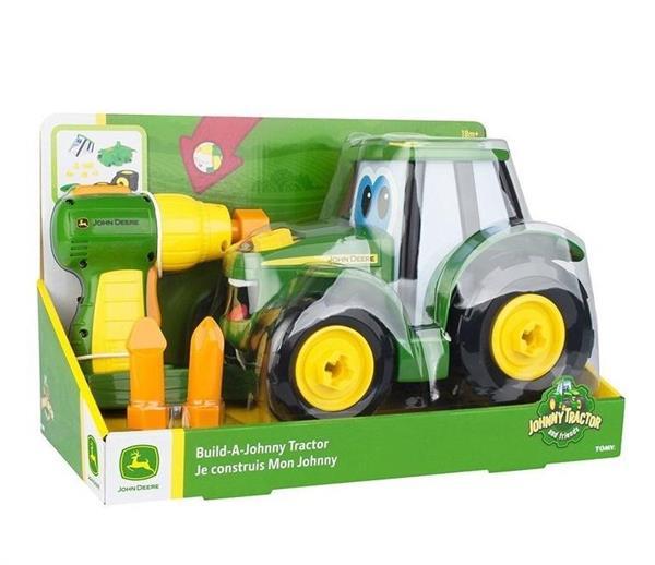 John Deere zbuduj traktor Johnny TOMY