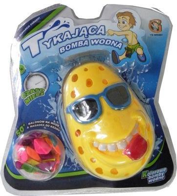 Tykająca bomba wodna- żółta