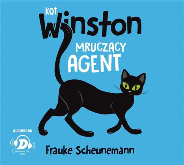 Kot Winston. Mruczący agent audiobook