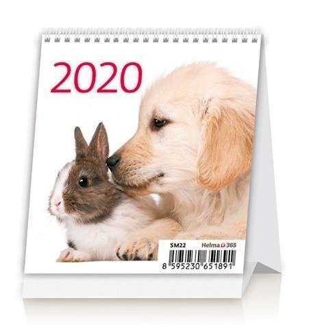 Kalendarz 2020 Biurkowy Mini Przyjaciele NARCISSUS