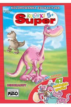 Dinozaury. Super kolorki