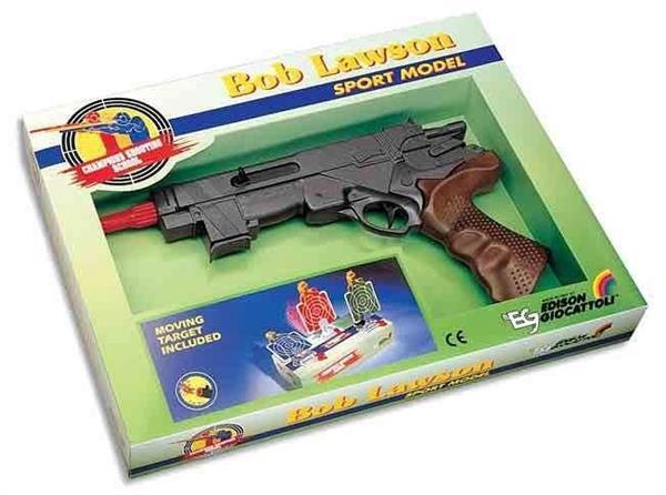 Edison Pistolet na naboje gumowe Bob Lawson 32cm