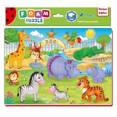 Miękkie puzzle A4 Śmieszne zdjęcia Zoo
