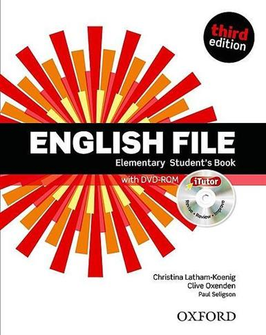 English File 3E Elementary SB with iTutor OXFORD