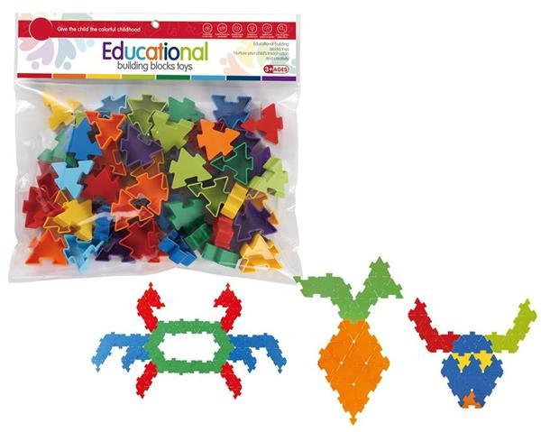 Klocki - puzzle 54 elementy