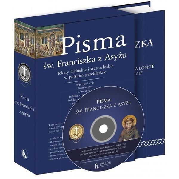 Pisma św Franciszka z Asyżu + CD