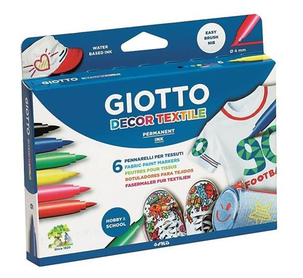 Pisaki Decor Textile 6 kolorów