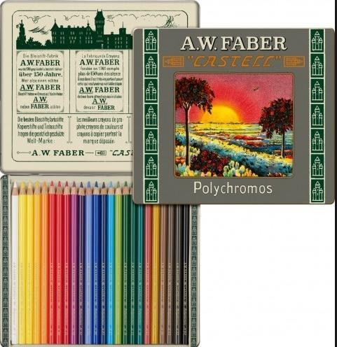 Kredki Polychromos 24 kolory ed. limitowana