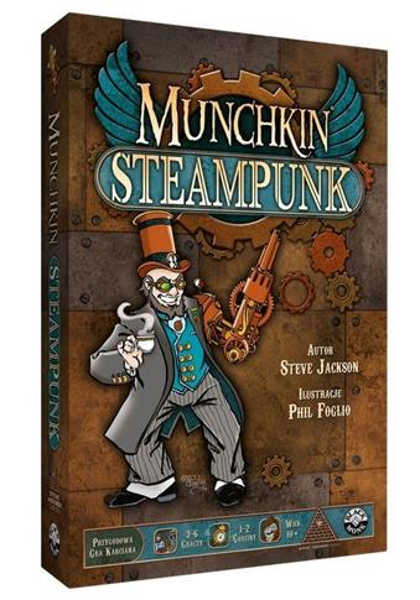 Munchkin Steampunk BLACK MONK