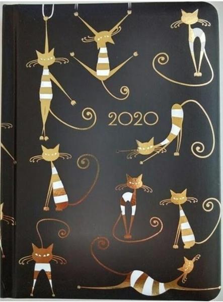 Kalendarz tygodniowy B6 2020 Koty ALBI