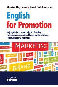 ENGLISH FOR PROMOTION NAJCZĘŚCIEJ UŻYWANE..outlet