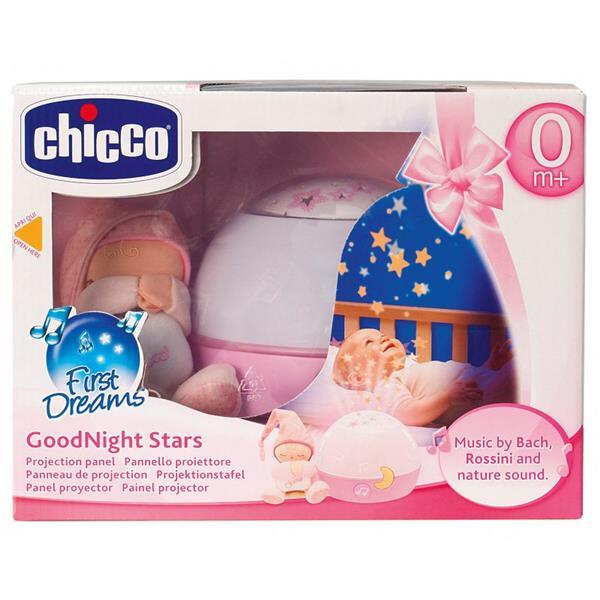Chicco First Dreams - Projektor gwiazdek Różowy